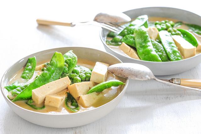 Green Pea & Tofu