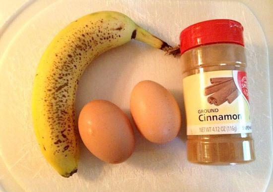 3 Ingredient Pancakes (gluten free)