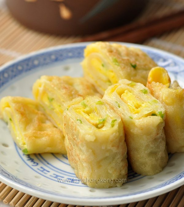 Egg Pancake Rolls