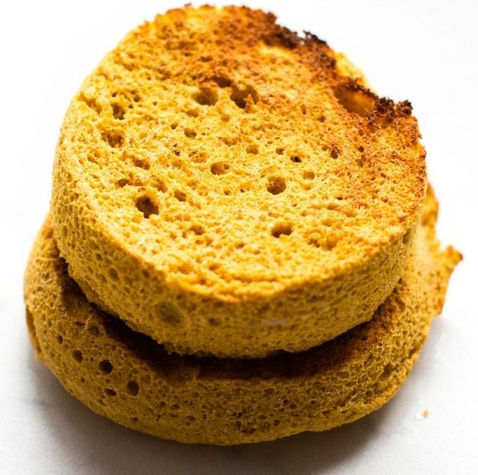 Flourless Pumpkin English Muffin